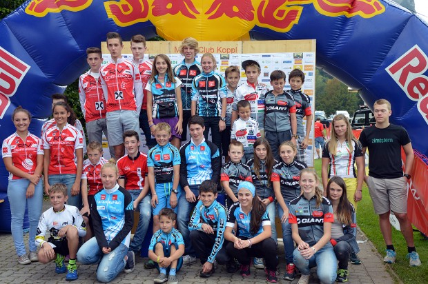 1.)  HaiBike Racing Team Haiming 2.)  UNION RV Dornbirn 3.)  GIANT Stattegg 4.)   5.)   (Fotos: Stigger)
